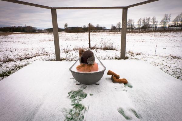 wiejska łaźnia zima-21