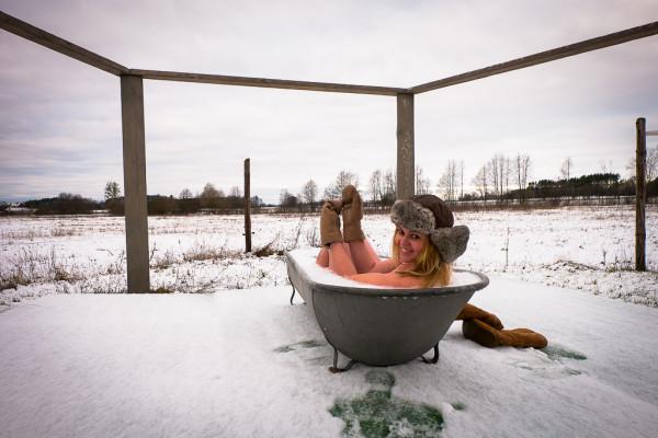 wiejska łaźnia zima-22